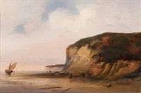 bord de côte by raymond eugène goethals