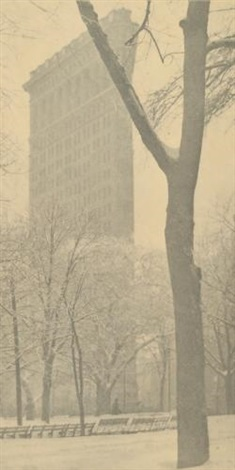 the flatiron new york by alfred stieglitz