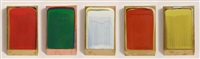 five part colour collection (5 works) by ciaran lennon