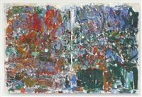 aires pour marion (diptych) by joan mitchell