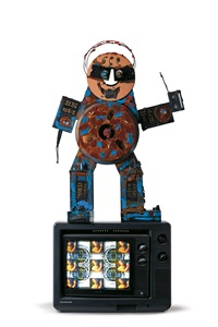 fin de siecle man by nam june paik