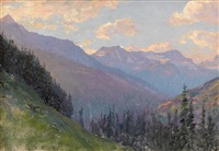 canadian rockies by walter launt palmer
