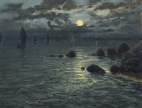 lever de lune by mathurin janssaud