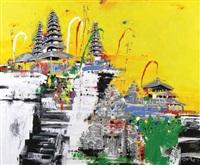 balinese temple by taat joeda