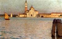 before san giorgio maggiore, venice by georges paul leroux
