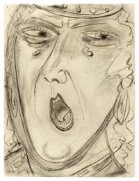 schreiende kriemhild by max beckmann