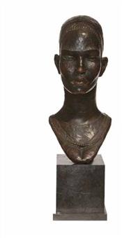 fulani girl by ben enwonwu