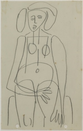 untitled nude by john anthony tony tuckson