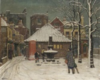 winter afternoon hammersmith by aeta jardine