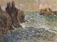 bord de rivage en bretagne by anne millasson