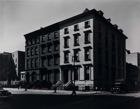 fifth avenue, nos. 4,6,8, new york by berenice abbott