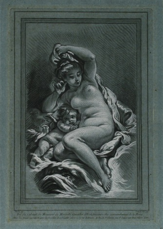 venus und amor after boucher by louis marin bonnet