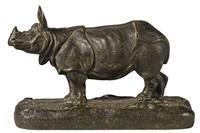 rhinoceros by alfred barye