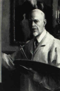 self-portrait by dewitt mcclellan lockman