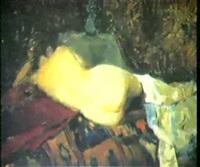 nu allongé by viktor tolotchko