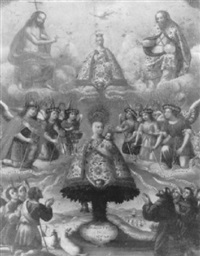 the apparition of our lady of aranzazu by francisco alban