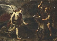 balaam and the ass by luca giordano