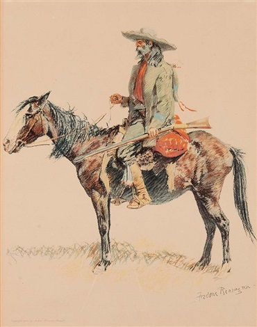 a trapper by frederic remington