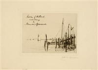 untitled (portfolio of 6) by carel nicolaas storm van 's-gravensande
