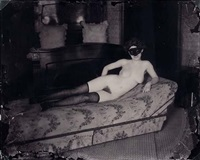 prostituée à storyville (after lee friedlander) by e.j. bellocq