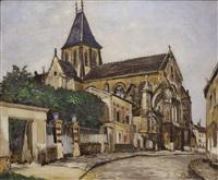 eglise de moret by marcel françois leprin