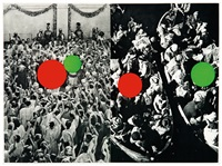 two boats (from hegel's cellar portfolio) by john baldessari