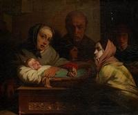 le nouveau-né by auguste barthelemy glaize