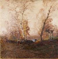 carretto nel bosco by leonardo roda