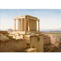 ruines de l'acropole, athènes (+ l'erechthéion sur l'acropole, athènes; pair) by andré raulin