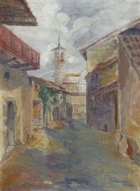 italienische gasse by heinrich ehmsen