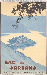 lac de sarrans, aveyron, cantal by charles alo (halo)