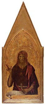 saint john the baptist by lippo memmi