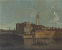 l'isola di san clemente, venezia by francesco albotti