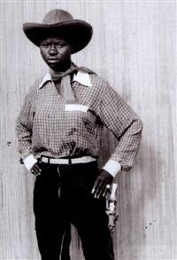 femme cow-boy by jean depara