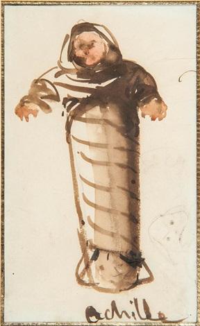 lenfant emmailloté achille by françois marius granet