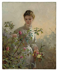 a summer bouquet by george elgar hicks