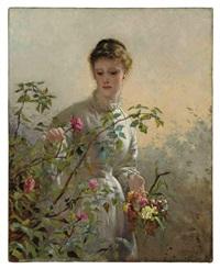 a summer bouquet by george elgar hicks