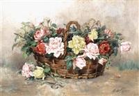 le panier de roses by marthe courtier
