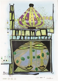 10002 nights homo humus come va by friedensreich hundertwasser
