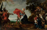 jacob reconciled with esau by johann liss