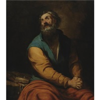 st. peter by luciano borzone