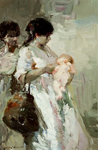 maternidad by luis giner bueno