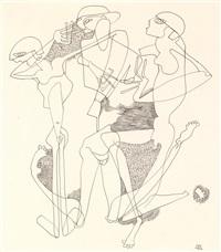 badende /den helden des krieges (2 works) by curt stenvert