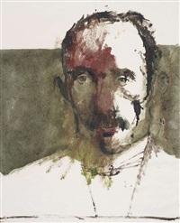barlach; o. kokoschka, 1982; e. schiele, 1913; lovis corinth, 1982; lovis corinth, 1982 (5 works) by leonard baskin