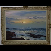 seascape study by leonard c. lane