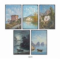 five neapolitan scenes by domenico ammirato