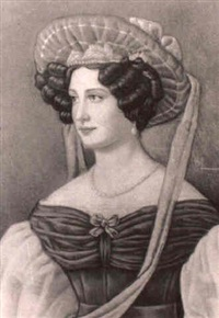 dama con sombrero by george p. hilton