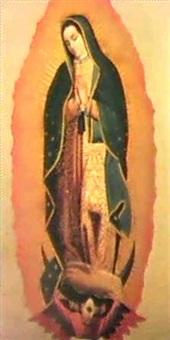 virgen de guadalupe. by pedro de arrieta