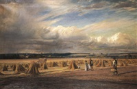 harvest time - thunder about by walter field