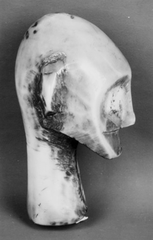 african mask by walker evans